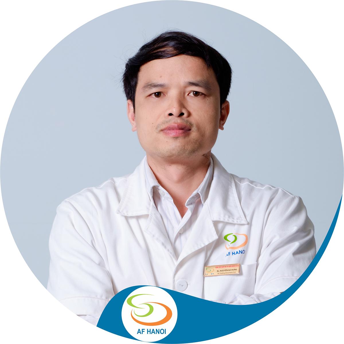 Bs Nguyễn Bá Hưng - Trưởng khoa Nam học