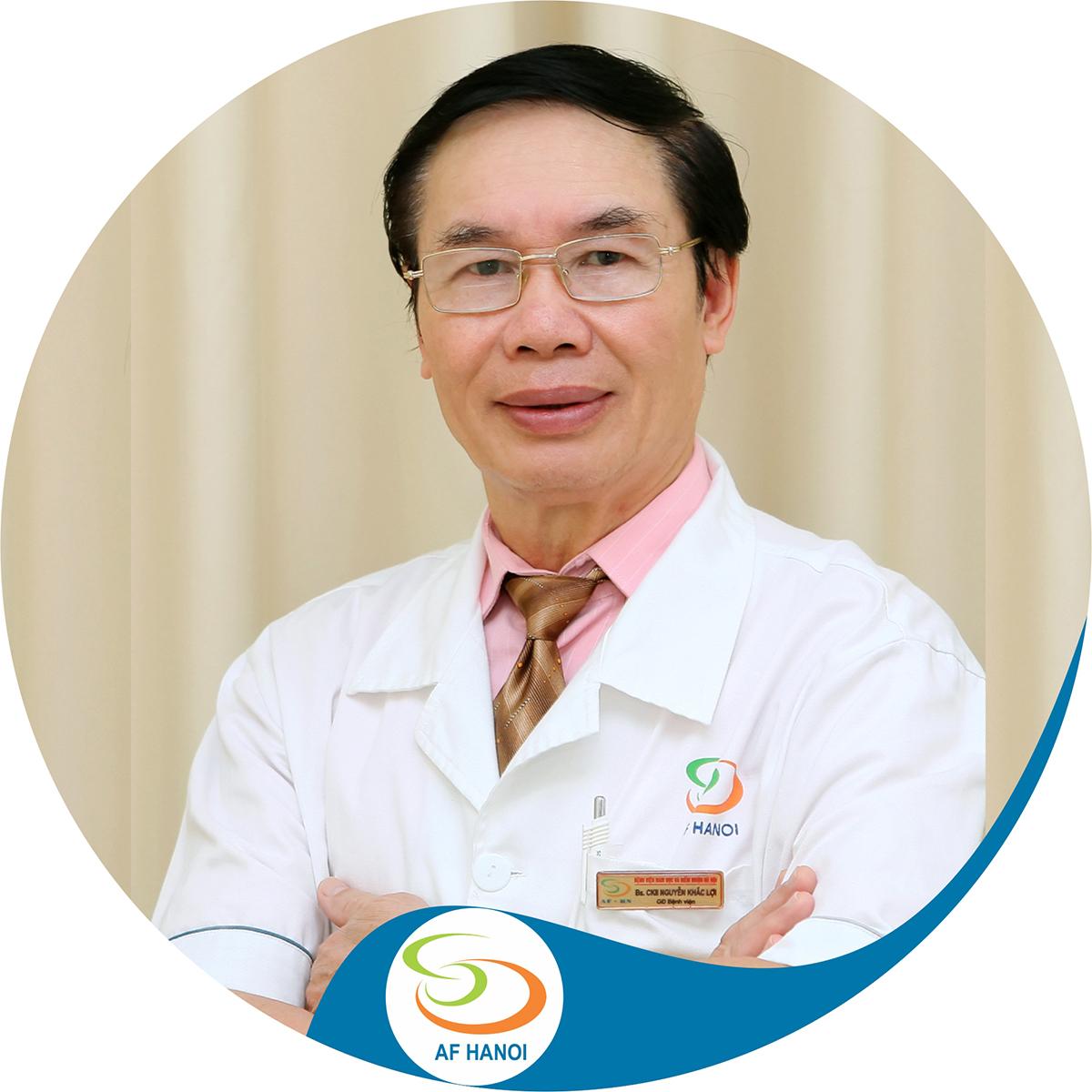BsCkII. Nguyễn Khắc Lợi - Giám đốc Bệnh viện